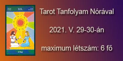 Tarot tanfolyam 2021. május 29-30.